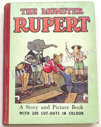 The Monster Rupert Book by Mary Tourtel - First edition - 1950 - from The First Edition and Biblio.com