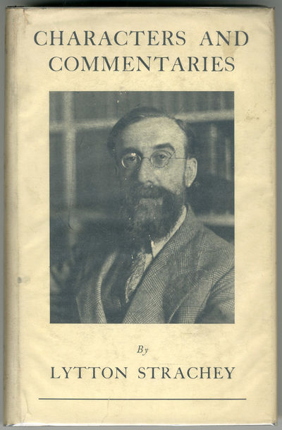 London: Chatto & Windus, 1933. Gilt cloth. Portrait. Preface by James Strachey. First edition. Endsh...