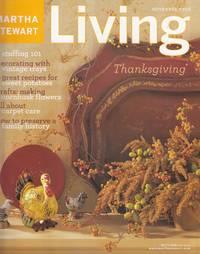 Martha Stewart Living Magazine November 2002