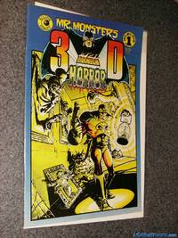 *Signed* Mr. Monster's 3D Hi-Octane Horror Super-Duper Special 1 (May 1986) Comic