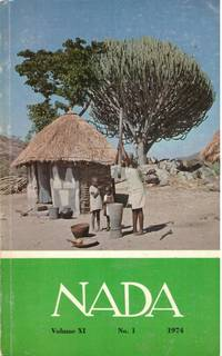 image of NADA VOL XI No 1 1974