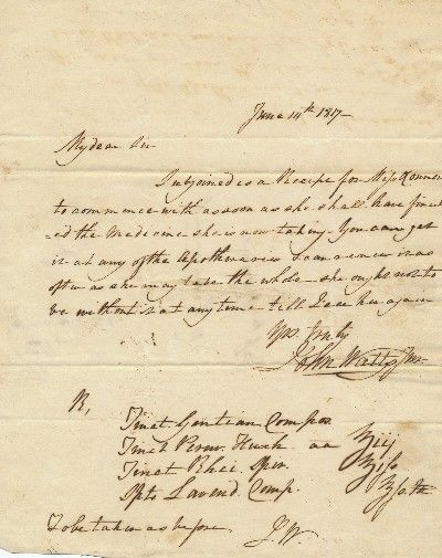 Exceptional twice-signed A.L.S., sending a..