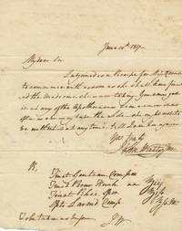 A.L.S. 4to, June 14,1817, n.p.
