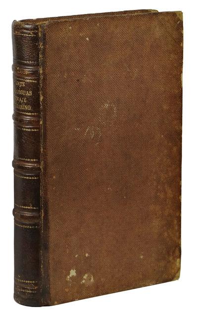 Madrid: Establecimiento Tipografico de Tomas Rey y Compania, 1869. First Edition. Very Good. Riou; H...