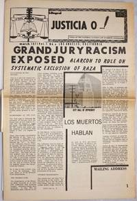 Justicia O...! voice of the National La raza Law Students Association vol. 1, #5, March 1971: Grand Jury Racism Exposed