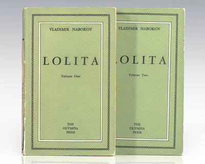 Paris: The Olympia Press, 1955. First edition of Nabokov's masterpiece, published in Paris by the Ol...