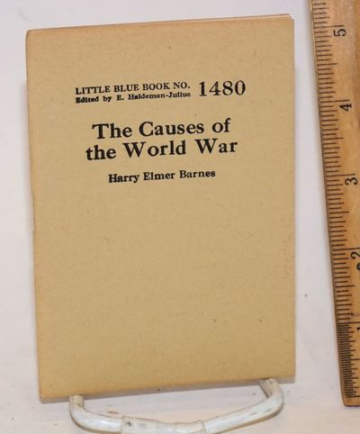 Girard, KS: Haldeman-Julius Publications, n.d.. 32p., wraps, 3.5x5 inches, very good. Little Blue Bo...