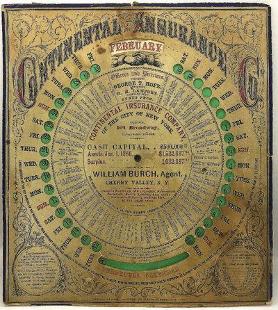 New York: Ferris & Brown, 1866. An 11