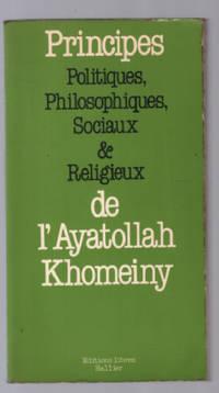 image of Principes politiques  philosophiques  sociaux et religieux