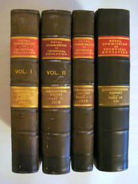ROYAL COMMISSION ON INDUSTRIAL TRAINING AND TECHNICAL EDUCATION, REPORT OF THE COMMISSIONERS 1913 (COMPLETE 4-VOLUME SET)