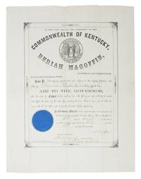 In The NAME And By The AUTHORITY Of The COMMONWEALTH Of KENTUCKY, BERIAH MAGOFFIN, Governor of Said Commonwealth ... Appoint Him Aid to the Governor