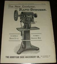 image of Original 1891 Full Page Illustrated Advertisement for the Goodyear Shoe  Machinery Company
