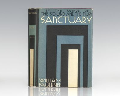 New York: Johnathan Cape & Harrison Smith, 1931. First edition of the novel that established Faulkne...