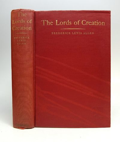 New York: Harper, 1935. First. hardcover. very good. Photo Illus. xii, 483pp. 8vo, red cloth, light ...