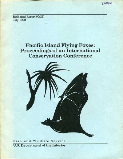 Washington DC: U.S. Fish & Wildlife Service, Dept. of Interior, 1992. Paperback. Very good. Quarto (...