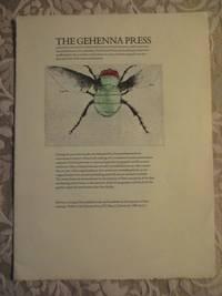 The Gehenna Press & The Eremite Press Catalogue