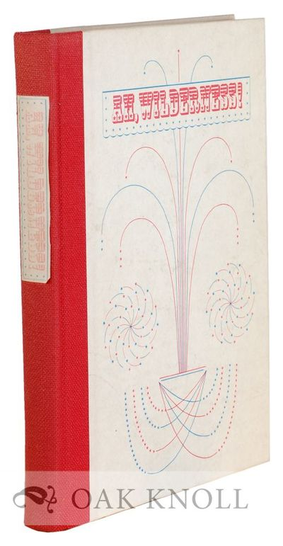 New York, NY: The Limited Editions Club, 1972. quarter cloth, paper-covered boards, paper spine labe...