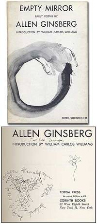 Empty Mirror: Early Poems by  Allen GINSBERG - Paperback - Signed First Edition - 1961 - from Between the Covers- Rare Books, Inc. ABAA (SKU: 99819)