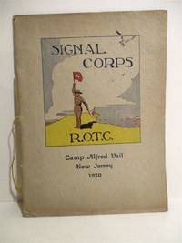 Signal Corps R.O.T.C. Camp Alfred Vail, New Jersey , 1920.