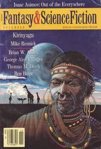 The Magazine of Fantasy & Science Fiction November 1988 - The Audition, Kirinyaga, Diamond...