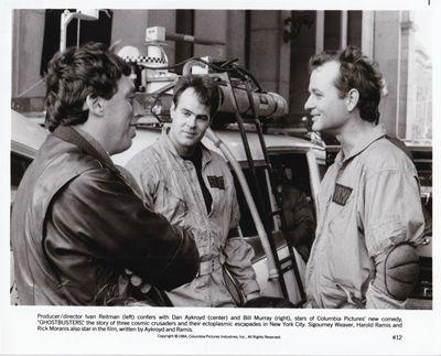 Culver City, CA: Columbia Pictures, 1984. Vintage studio still photograph of director Ivan Reitman a...