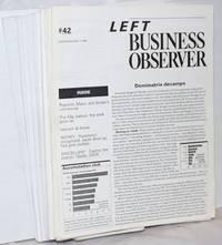 image of Left Business Observer [fragmentary run]; 1990-2001