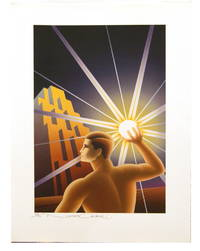 Nick Gaetano- Ayn Rand Print- Fountainhead 1/120 Signed