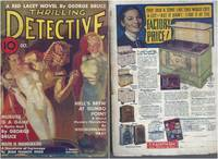 Thrilling Detective 1937 Vol. 25 # 2 October: Murder is a Game / Death is Inaugurated / Judgment in Lead / Hell's Brew at Gumbo Point / Testified in Blood / Doom to the Left / Interlude in Flame