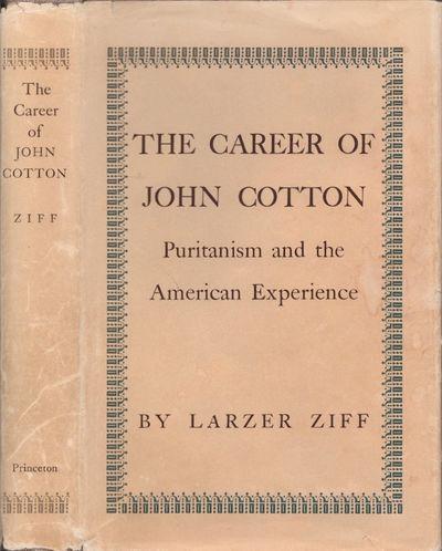 Princeton, New Jersey: Princeton University Press, 1962. Hardcover. Fair/fair. Octavo. Brown cloth h...