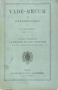 Vade-mecum du statisticien - Tableaux concernant la France et ses colonies