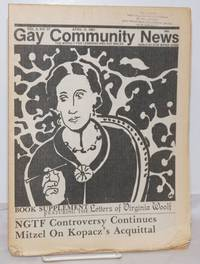 image of GCN: Gay Community News; the weekly for lesbians and gay males; vol. 8, #37, April 11, 1981; NGTF Controversy