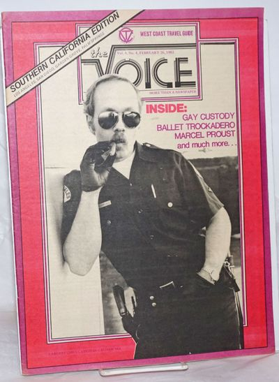 San Francisco: California Voice, 1983. Newspaper. 44p., includes covers, 10.75x14.5 inches, photos, ...