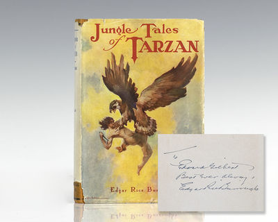 Chicago: A. C. McClurg & Co, 1919. First edition of the sixth book in Burroughs' epic Tarzan series....