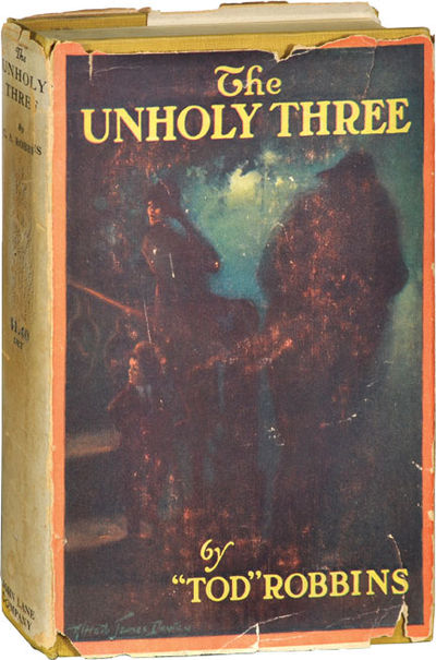 London: John Lane, 1917. First Edition. First Edition. A classic of horror fiction from Robbins, abo...
