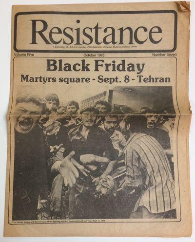 Berkeley, CA: ISAUS, member of Confederation of Iranian Students, 1978. 12p. tabloid format newspape...