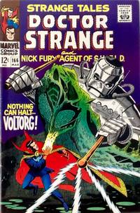 STRANGE TALES # 166 (March 1968) - Steranko S.H.I.E.L.D. & Doctor Strange (FINE/VF)