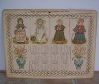 KATE GREENAWAY'S CALENDAR FOR 1884. by  Kate.: GREENAWAY - Hardcover - from Roger Middleton (SKU: 33645)