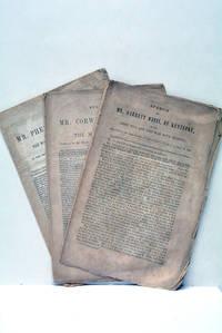 1) Speech of Mr. Corwin, of Ohio, on the Mexican war. 1847. 2) Speech of Mr. Garrett Davis, of...