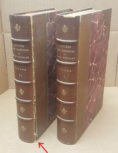London: C. Kegan Paul & Co, 1878. Eleventh Edition. Hardcover. Two octavos; Half leather bound with ...