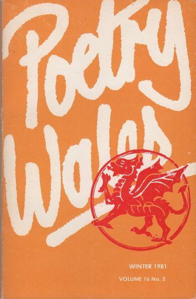 (Bridgend, Wales): (Saylesbury Press), 1981. First Edition. Wraps. Near fine. Small 8vo. Printed wra...