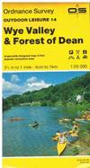 image of Wye Valley and Forest of Dean (OS Explorer Map Active)