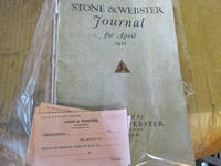 image of Stone & Webster Journal for April & May 1921 Vol. 28 No. 4 , No. 5