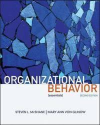 Organizational Behavior: Essentials by Steven McShane - Paperback - 2008-03-10 - from Books Express and Biblio.com