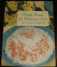 image of Thrifty Recipes for Wholesome Food for 2 and 4 and 6