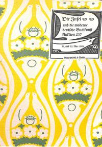 Sale: 21 & 22 May 1985: Die Insel und die Moderne Deutsche Buchkunst.
