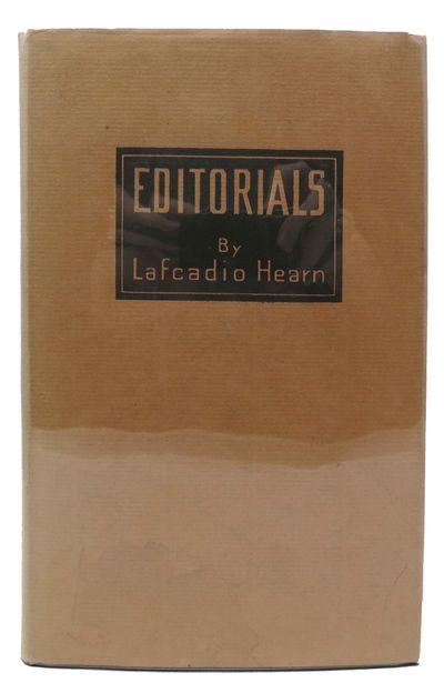 Boston and New York: Houghton Mifflin Company, 1926. 1st Edition (BAL 7994). Dark olive green cloth ...