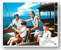 [Complete Set of Studio Lobby Cards for:] ISLANDS IN THE STREAM