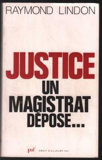 Justice  un magistrat dépose