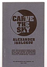 CARVE THE SKY [A SCIENCE FICTION NOVEL]