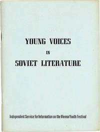 Young Voices in Soviet Literature: One of a series of research papers on subjects of interest to youth and students